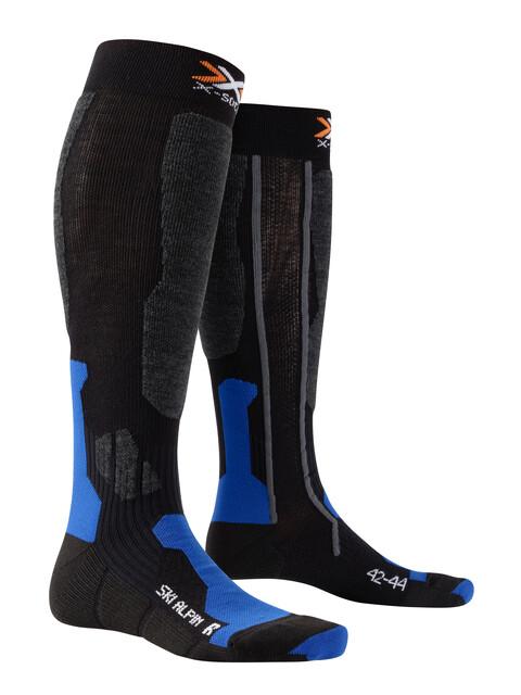 X-Socks Ski Alpin Socks Black/Cobalt Blue